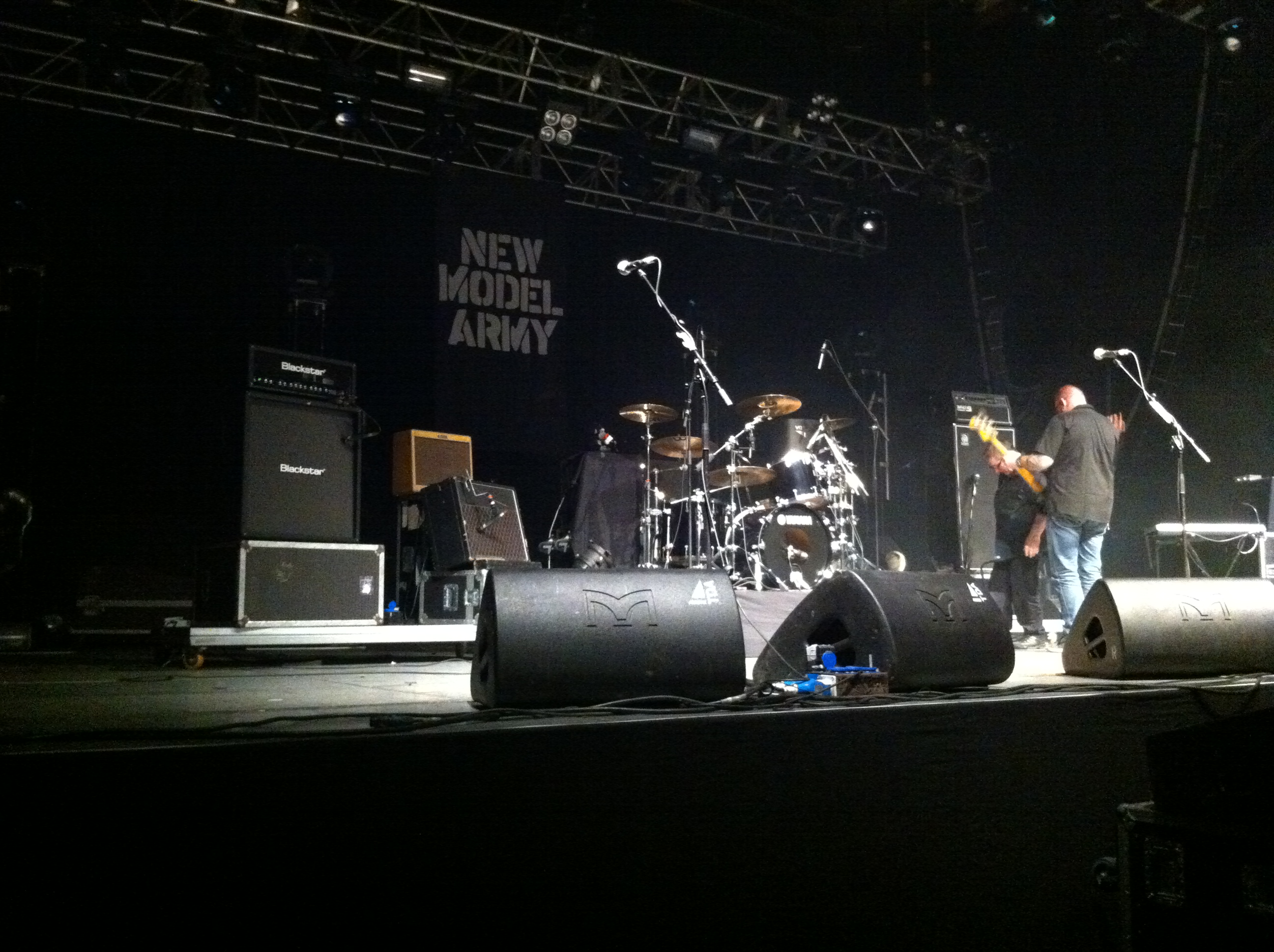New Model Army - Set im Palladium 17.12.2011