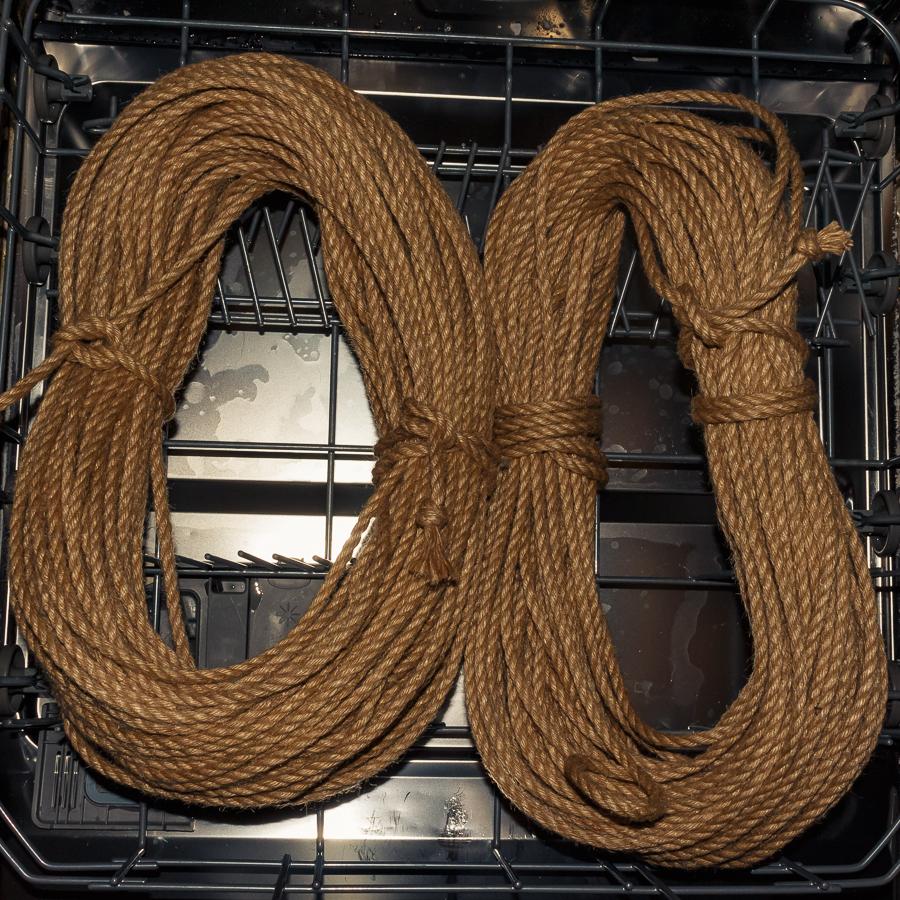 Das Rope in der Spülmaschine