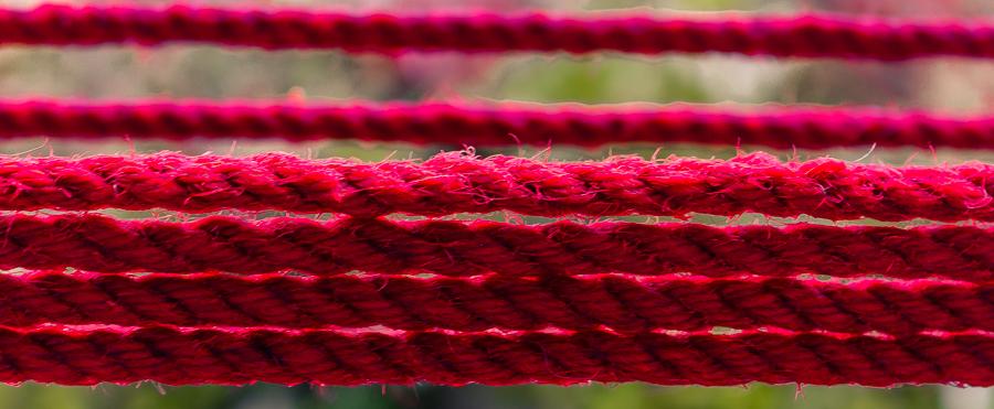 gefärbtes Rope